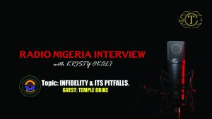 Pitfalls of infidelity. An FRCN radio interview.